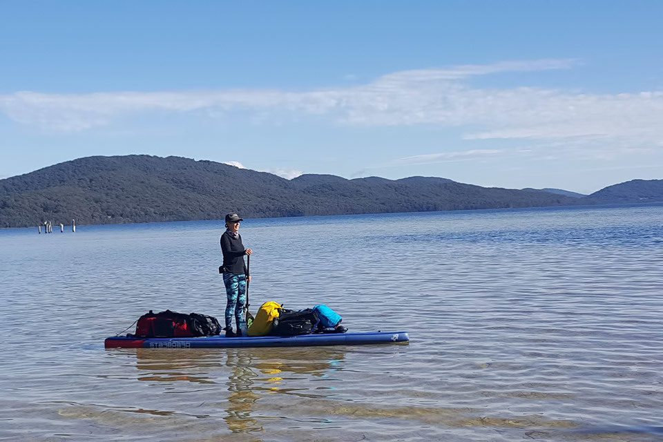 13-Day Solo Australia on Bicycle and SUP