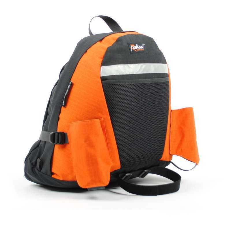 11110Or Rackbag Backbone Orange Recumbentbackpack