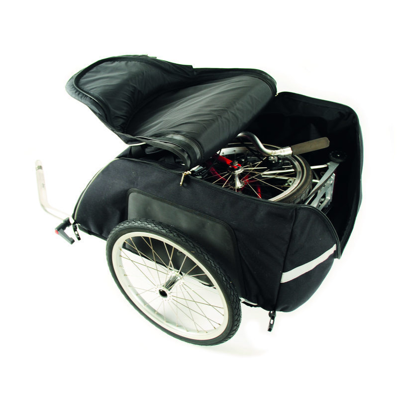 20044 Cyclone4 Chubby Bicycletrailer Filled