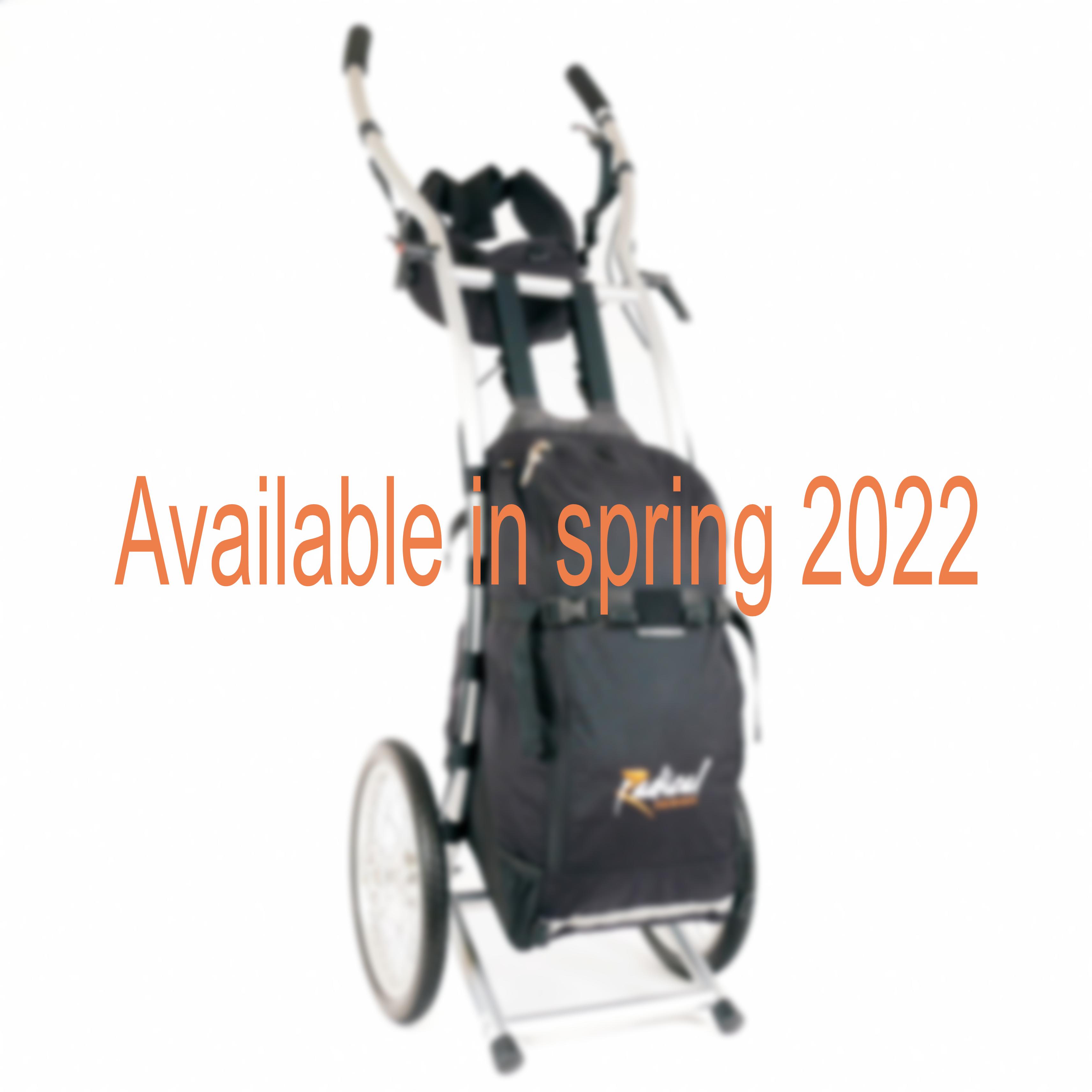 Chariot de randonnée Wheelie V Traveller HD avec freins