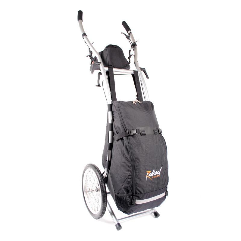 Chariot de randonnée Wheelie V Traveller avec freins