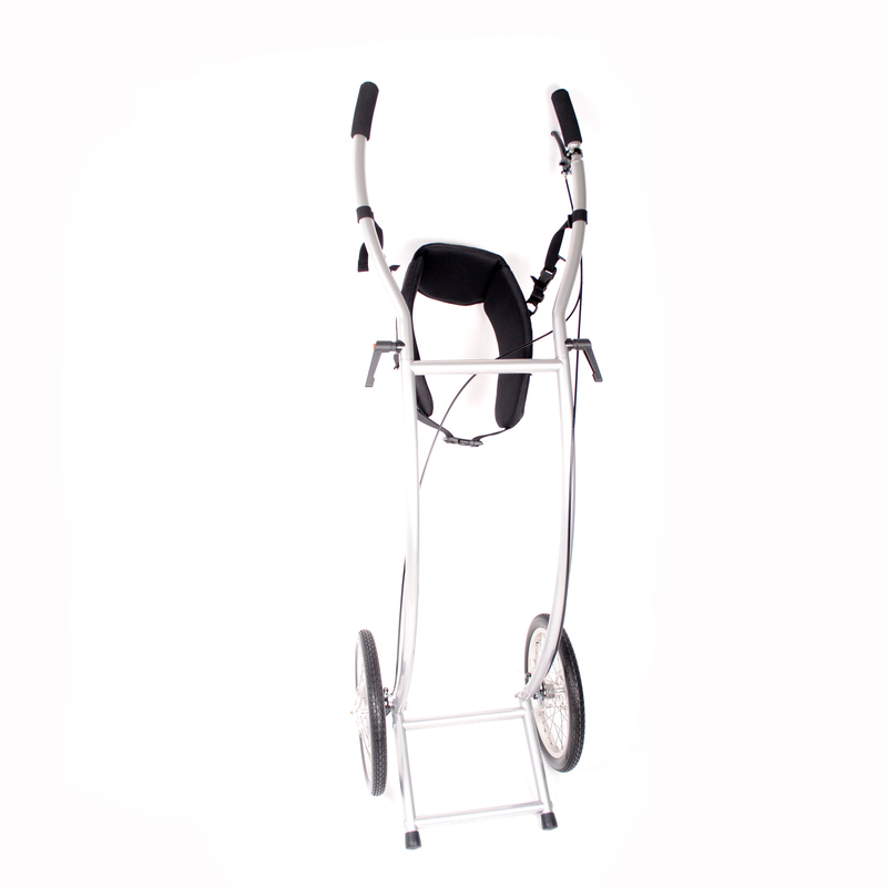 21058 Wheelie5 Skeleton Braked Walkingtrailer