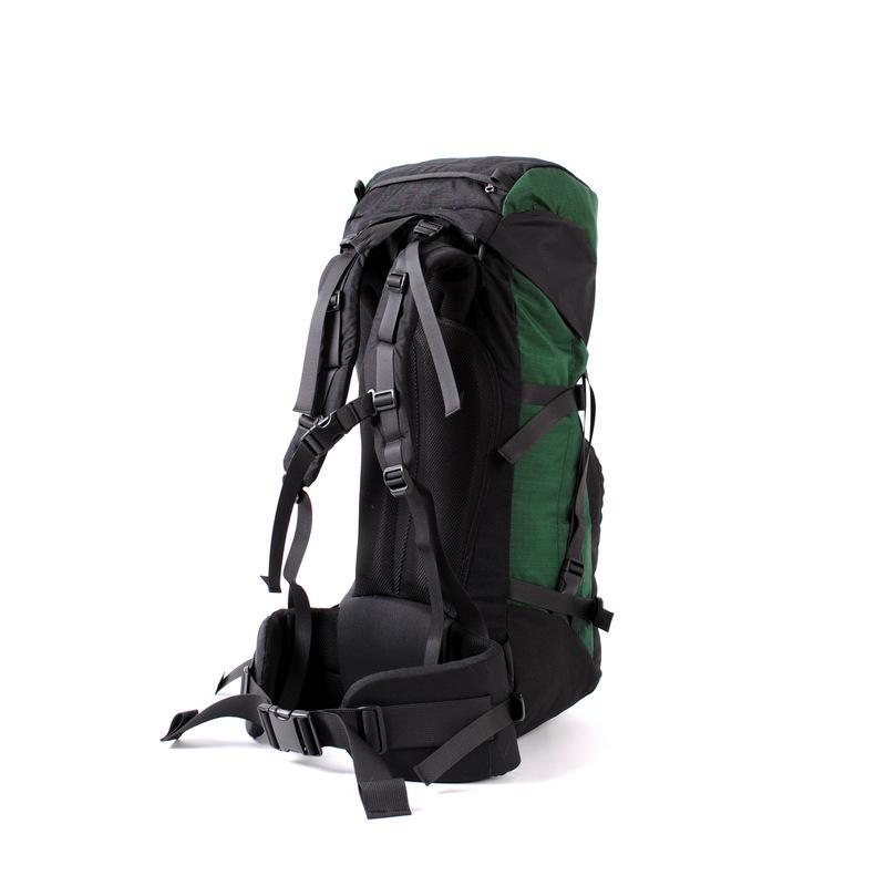 30101 Pulsar50 Expedition Backpack Green Back