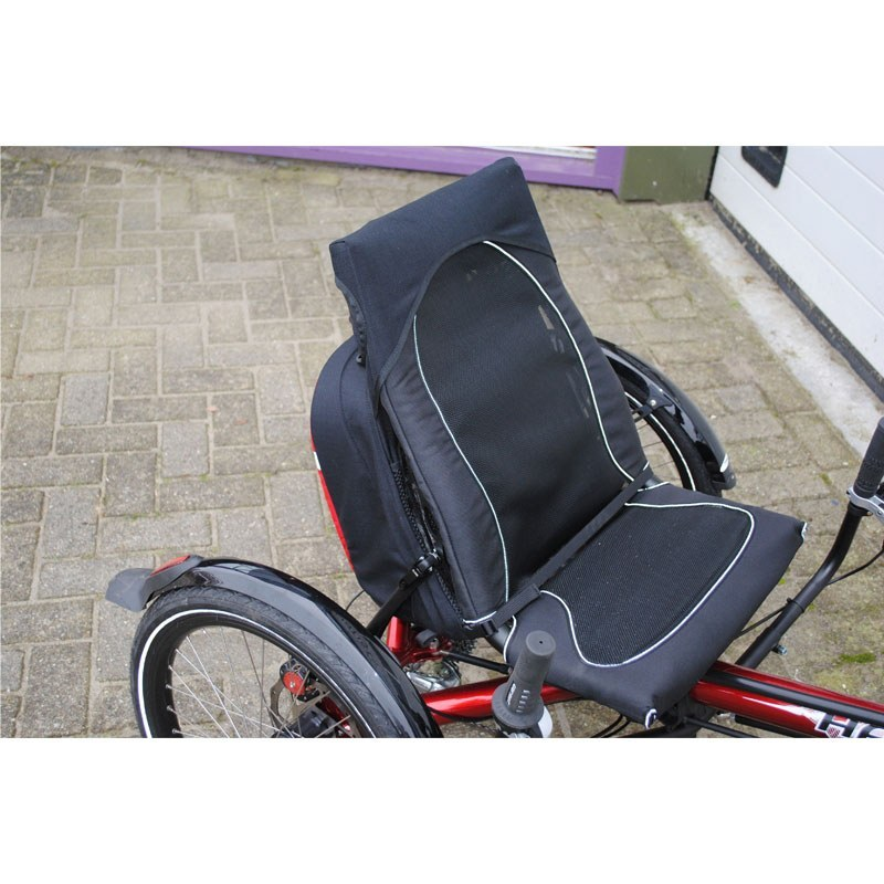Kettwiesel Recumbent Bag On Bike