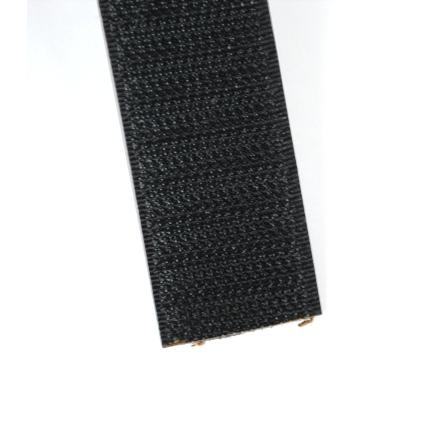 Velcro noir 25 mm crochets
