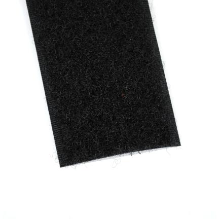 Velcro noir 38 mm boucles