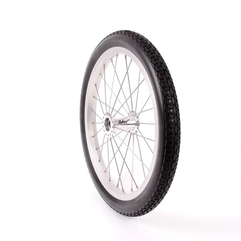 Roue de 47-305 avec pneu plein